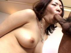 Horny hairy snatch Japanese pluged hard!