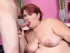 Slutty Redhead Plumper