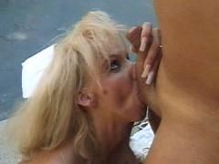 Weenie Greedy Blonde Nurse