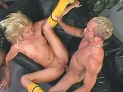 Blonde Nurse Honey pot Screwing