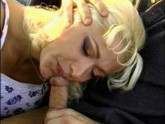 Sexy Blonde Outdoor Hardcore Fucked