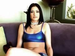 Busty Porn Star Muff Spreading