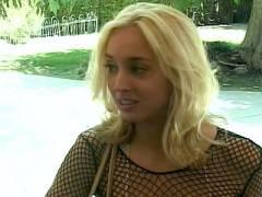 Blonde Kelly Wells Rammed