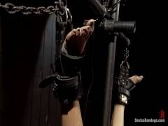Device Bondage: Bountiful Climaxes With Brutal Bondage