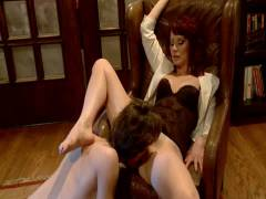 Divine Bitches: 19 Year Old Male Gigolo Prostate Milked For The Very First Time By Maitresse Madelin